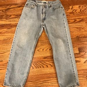 Levi's Vintage 550 relaxed fit,Light wash jeans,34